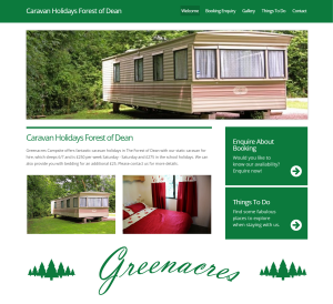 Lastest  For The Motorhome Area Deanwood Caravan And Campsite Forest Of Dean