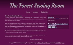the forest sewing room
